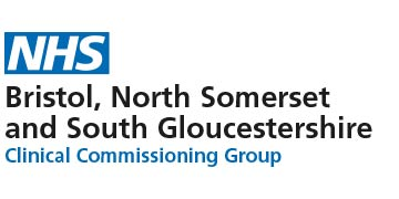 Logo for Bristol, North Somerset & South Gloucestershire CCG