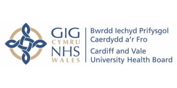 Logo for Cardiff and Vale University Health Board